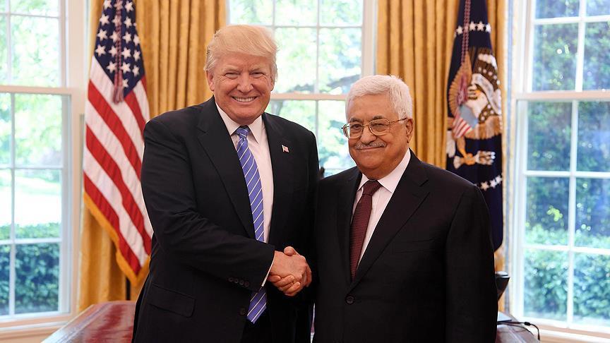 Filistin Devlet Başkanı, Beyaz Saray'a gitti
