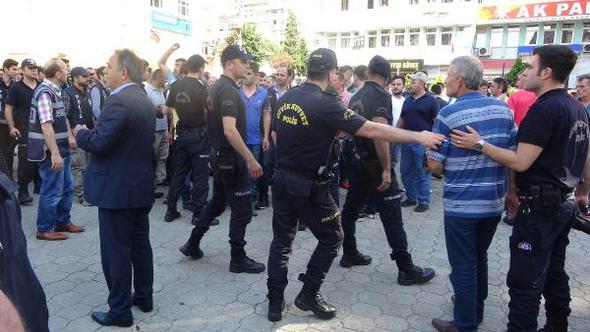 Rize'de AKP provokasyonu