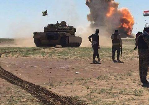 Irak Ordusu Telafer'e ilerliyor