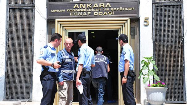 Ankara'da esnaf odasında silahlı çatışma: Yaralılar var