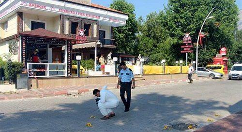 Antalya'da eğlence mekanına silahlı saldırı