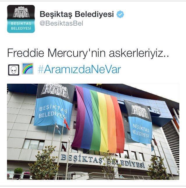 Beşiktaş Belediyesi LGBTİ paylaşımını sildi; 'Cami Turu' etkinliğini paylaştı