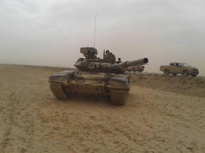 Suriye Ordusu T-90 tanklarını devreye sokuyor
