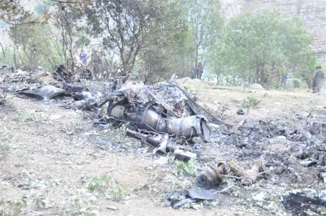 VİDEO | Şırnak'ta düşen askeri helikopterin enkazı görüntülendi