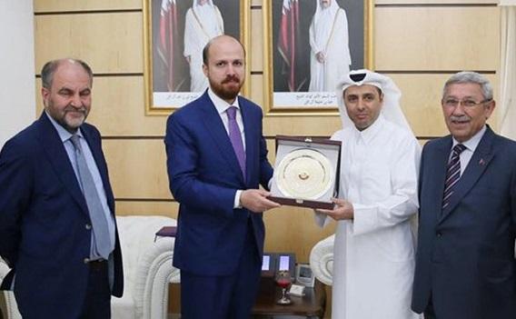 Katar'la kriz sonrası Bilal Erdoğan'ın vakfından dikkat çeken paylaşım