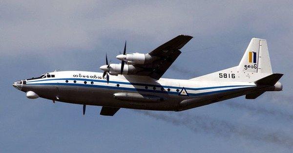 100'e yakın yolcu taşıyan Myanmar uçağı denize düştü