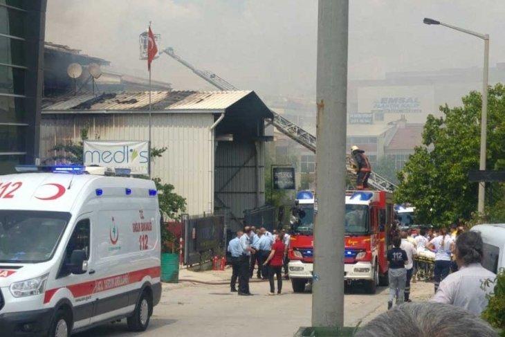 Ankara'da Organize Sanayi Bölgesi'nde patlama: 2 işçi hayatını kaybetti