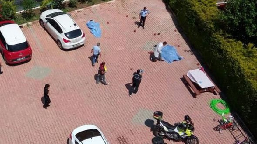 Antalya'da katliam: Eşine ve ailesine kurşun yağdırdı