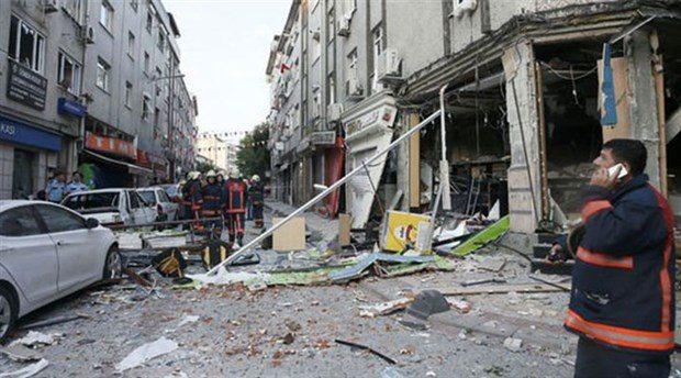 Bakırköy'de patlama panik yarattı
