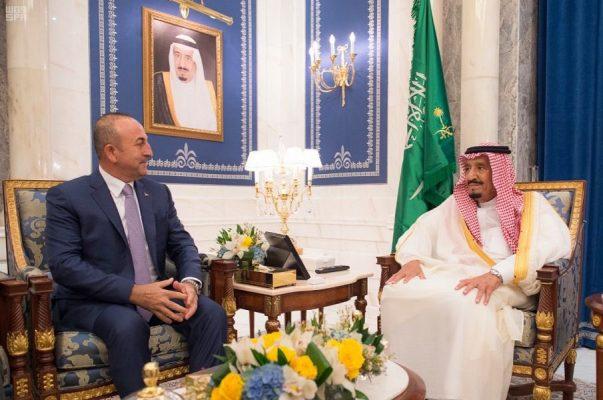 Çavuşoğlu'ndan Suudi Kralı ile görüşme sonrası açıklama: Kral liderlik göstermeli