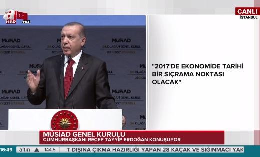 Salla tutarsa: Erdoğan'dan