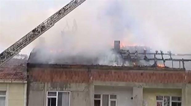 İstanbul Sefaköy'de yangın!