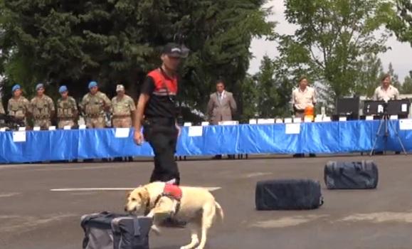 VİDEO | Jandarma'nın silah tanıtımında Kızıl Ordu marşı çalındı!