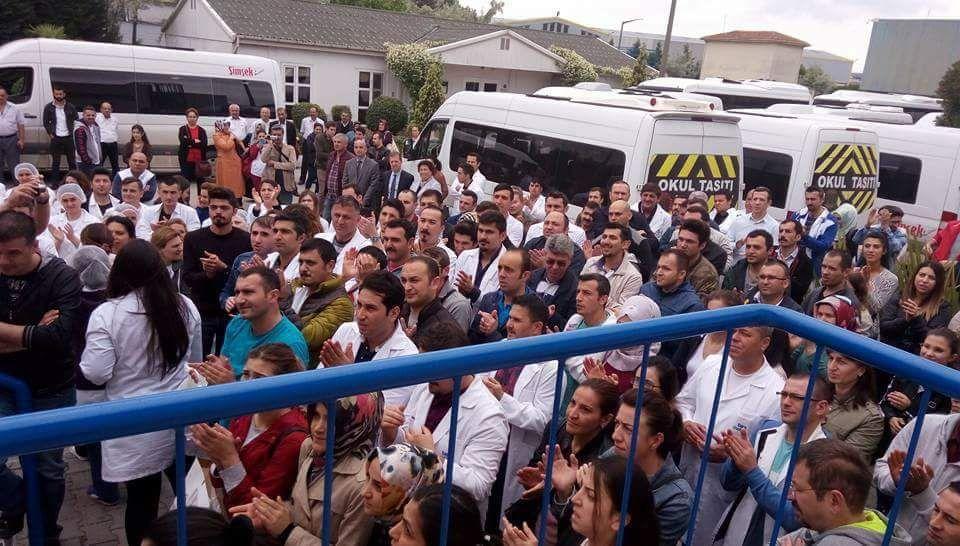 Patronların partisinden bir greve daha yasak geldi!