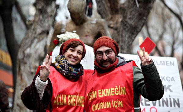 VİDEO | Semih Özakça'dan direnişin 1. yılında mesaj: Tek bir talebimiz var, işimizi geri istiyoruz