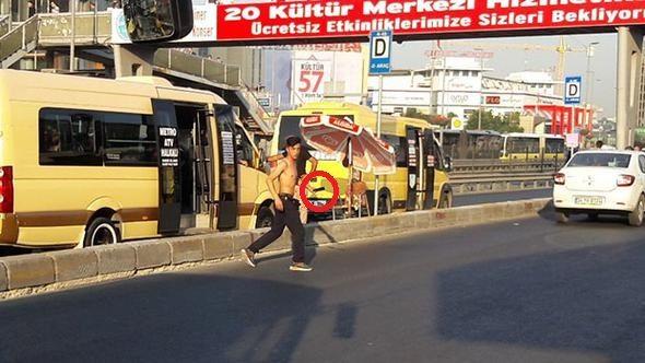 İstanbul'da 'palalı' paniği!