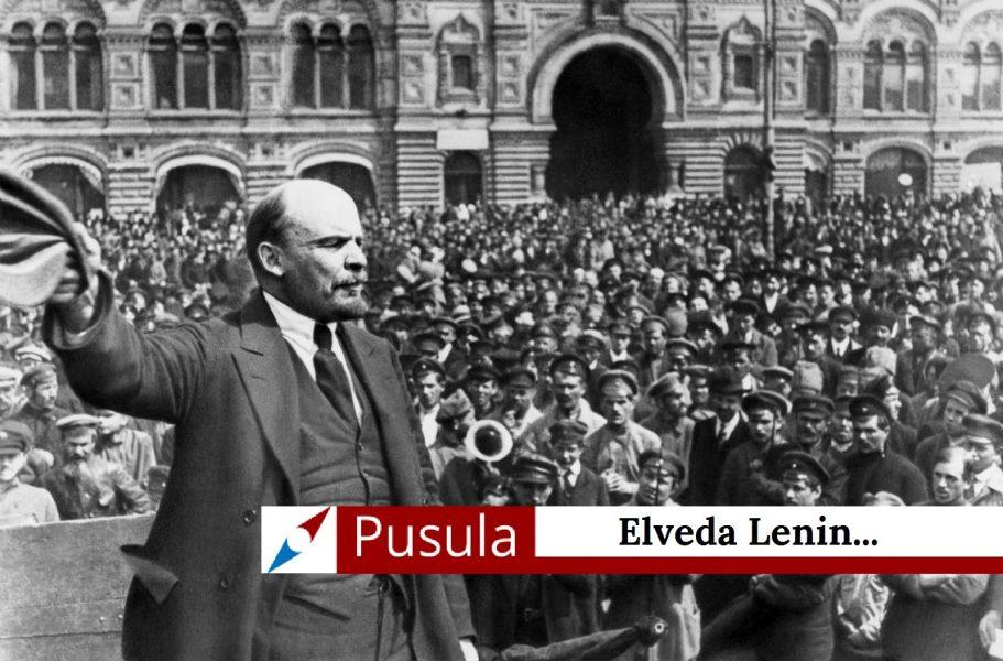 Elveda Lenin...