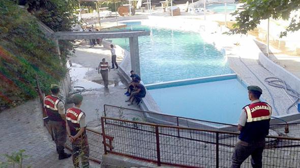 Havuz faciasında bir gözaltı