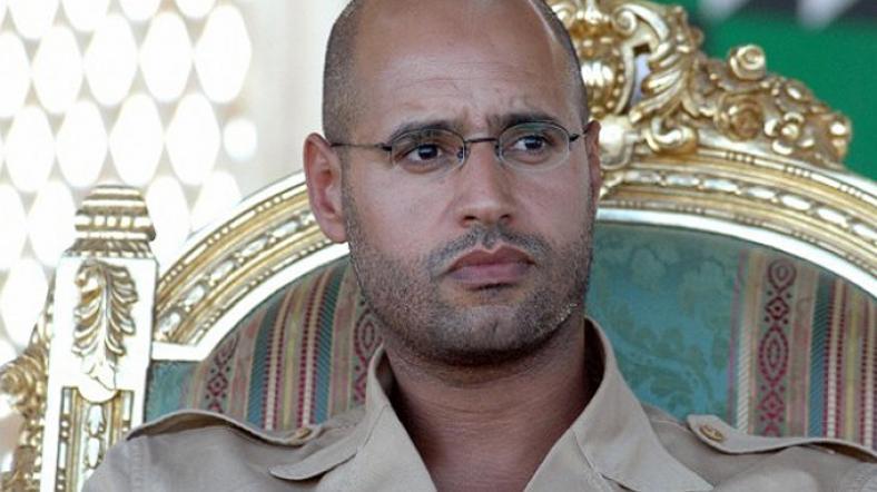 Kaddafi'nin ölüm cezasına çarptırılan oğlu serbest
