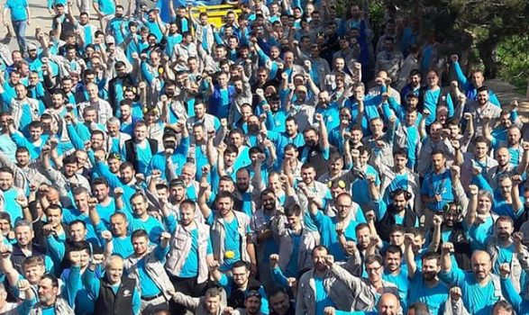 VİDEO | Cam işçisi kararlı: Vardiya başına iş bırakma süresi 2 saate çıkarıldı!