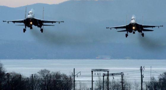 ABD'nin bombardıman uçağına Rus jetlerinden önleme geldi