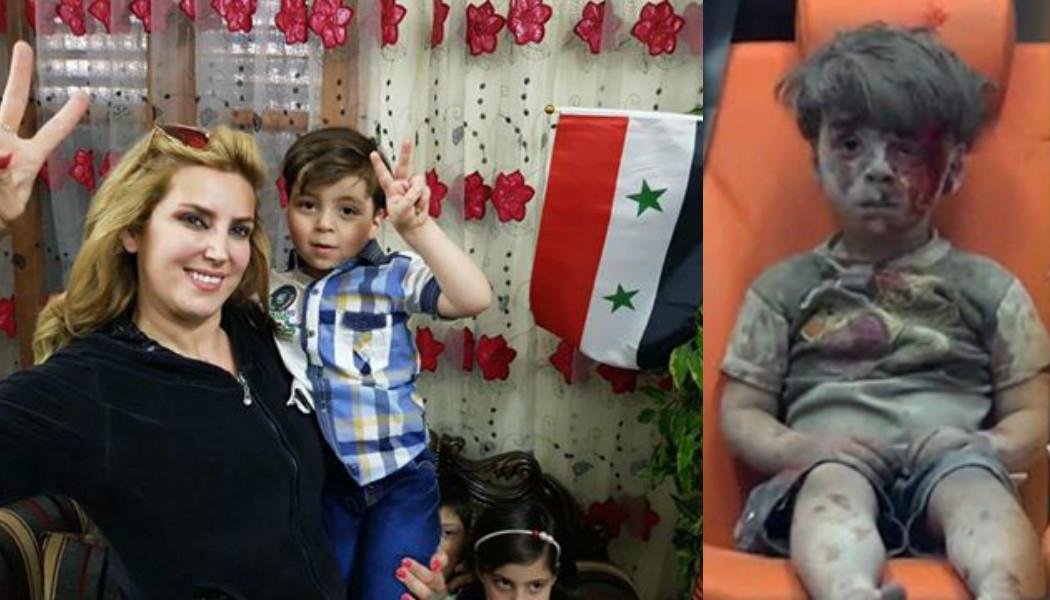 Cihatçıların sahtekarlıklarına bir darbe daha: Ümran, Halep'te ailesi ve halkı ile birlikte yaşıyor!