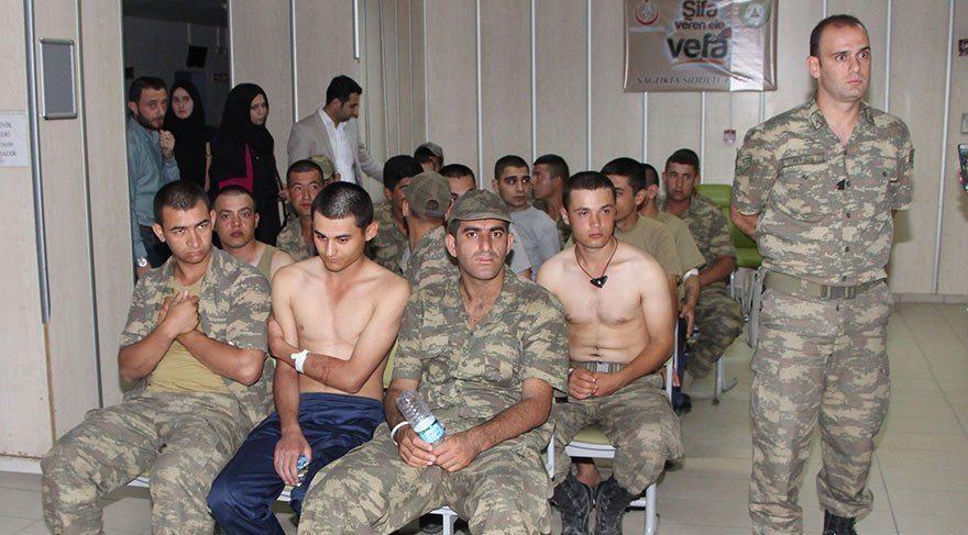 Askerleri zehirleyen yandaş şirket hastaneye de bozuk ve kokmuş et getirmiş