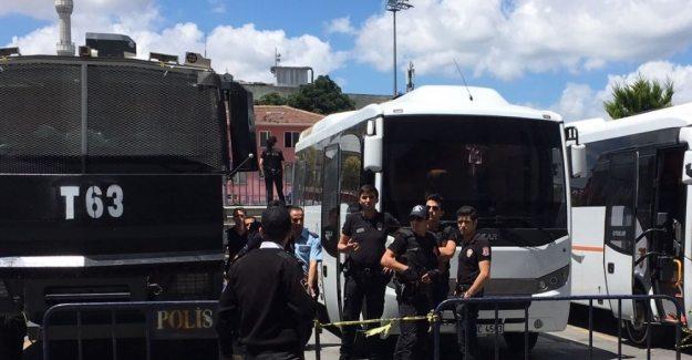 Adliyede firar girişimi: Polis ateş açtı
