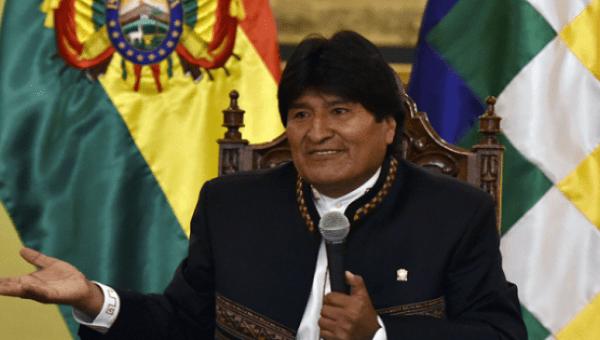 Morales: ABD ayrılıkçı gruplara para desteği sağlıyor