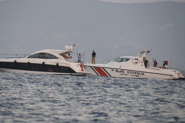 Kıvanç Tatlıtuğ'un teknesine Sahil Güvenlik baskını