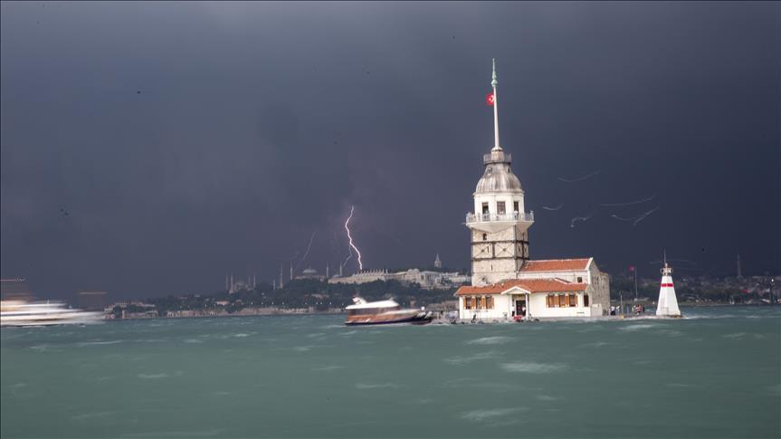 İstanbul'a çarşamba günü için uyarı