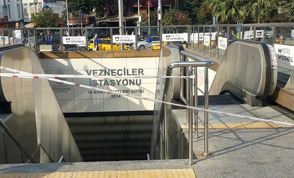 İstanbul'da bazı metro durakları kapalı