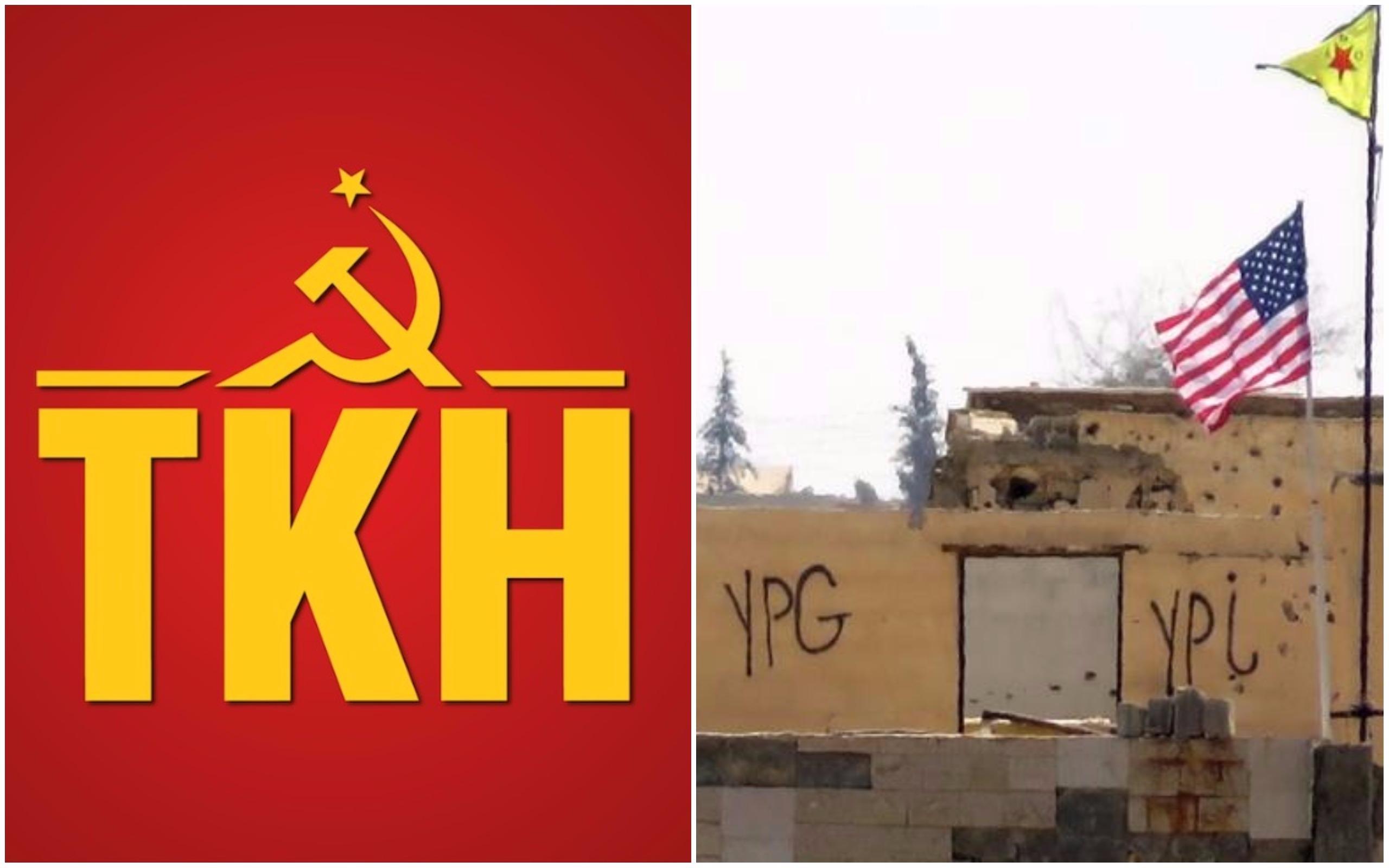 Türkiye Komünist Hareketi: Suriye'nin kuzeyinde ABD askeri üsleri kabul edilemez!