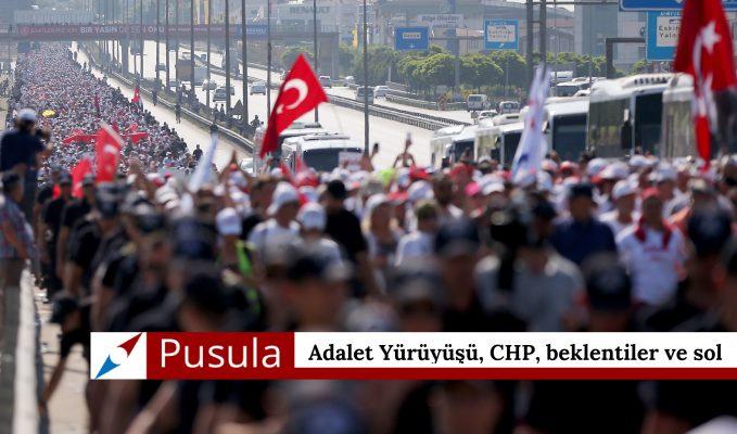 Adalet Yürüyüşü, CHP, beklentiler ve sol