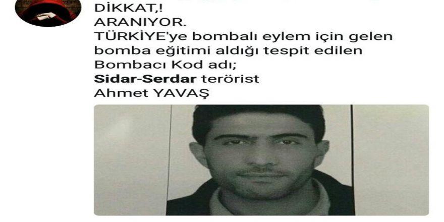 Fotoğrafları'canlı bomba' diye paylaşılan gençten suç duyurusu