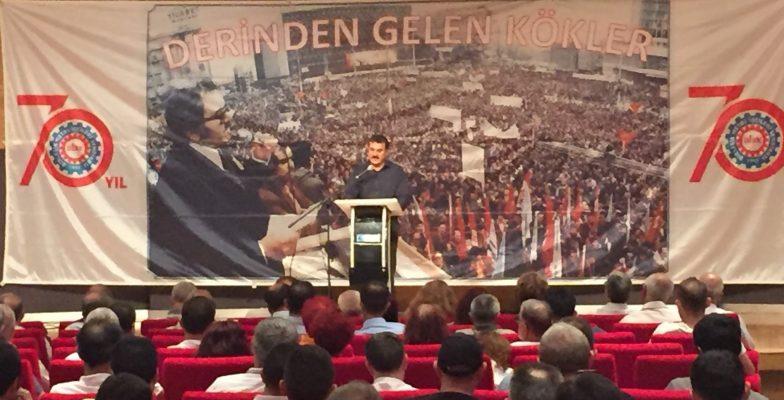 BMİS Genel Başkanı Serdaroğlu: 70 yılın kararlılığı, inancı ve ilkelerini geleceğe taşımaya çalışıyoruz