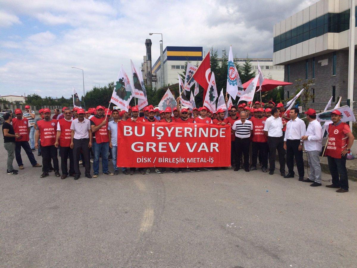 Tekno Maccaferri fabrikasında grev başladı!