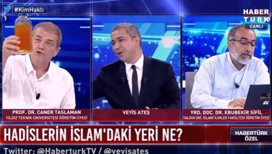 VİDEO | AKP Türkiyesi'nden TV manzaraları: Stüdyoya deve sidiği getirildi,