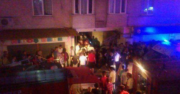 VİDEO | Gaziantep'te binada patlama: Yaralılar var