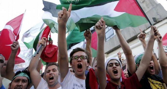 Valilikten İsrail protestosuna yasak