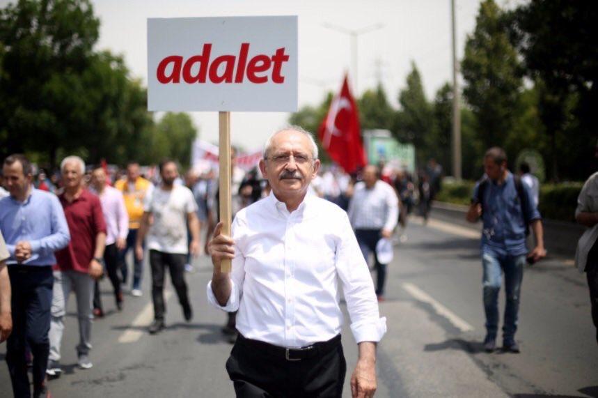 'Adalet Yürüyüşü'nde CHP'lilere'dinleme' iddiası