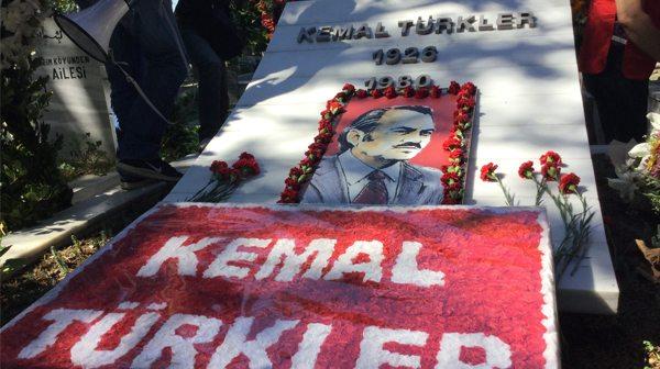 DİSK'in kurucusu Kemal Türkler, katledilişinin 37. yılında anıldı