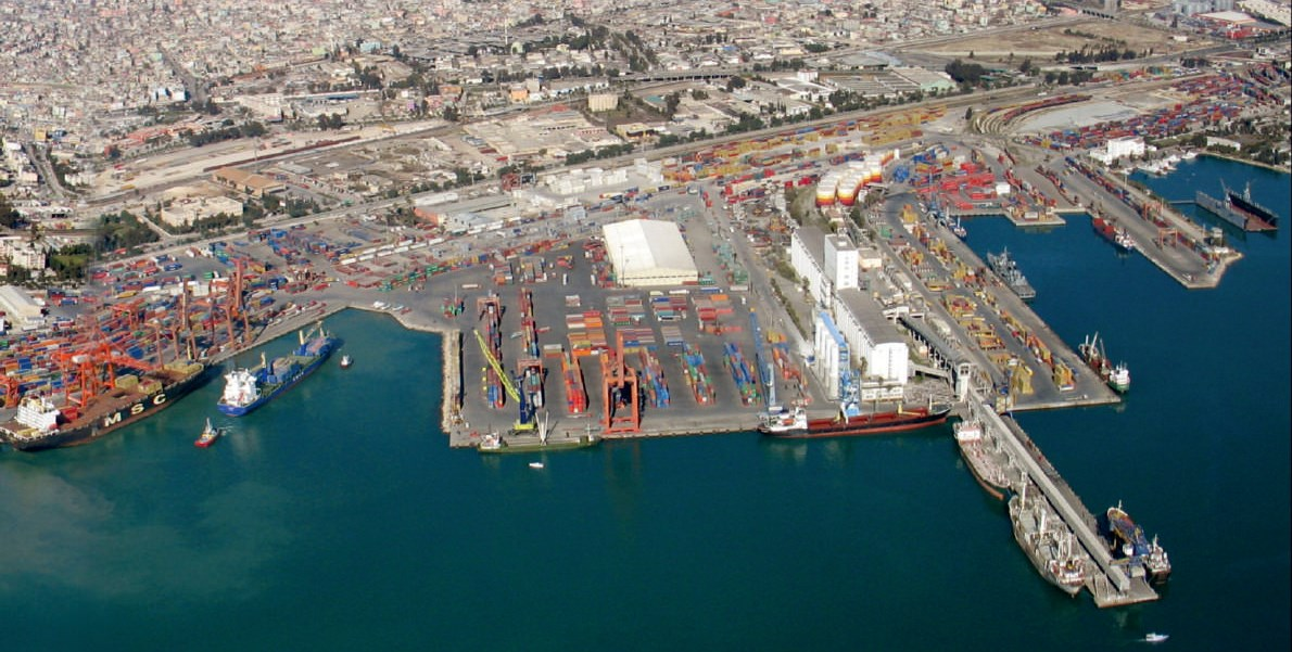 Türkiye'nin en büyük limanlarından Mersin Limanı'nın yüzde 90'ı yabancıların oldu