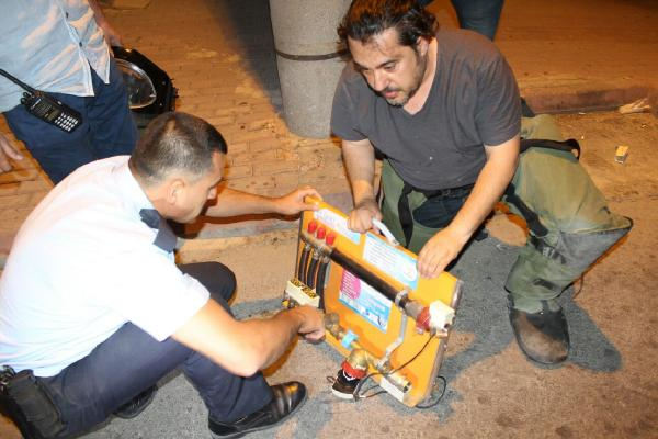 Öğrencinin projesi bomba sanılıp ihbar edildi