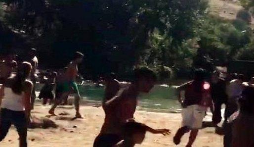 VİDEO | Pülümür çayında çatışma paniği kameralara yansıdı