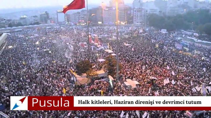 Halk kitleleri, Haziran direnişi ve devrimci tutum
