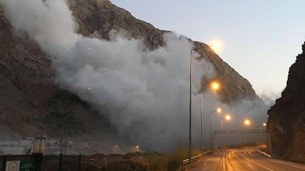 Hakkari'de madende patlatılan dinamit şehirde deprem etkisi yarattı