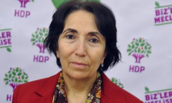 HDP'li Saadet Becerikli serbest bırakıldı