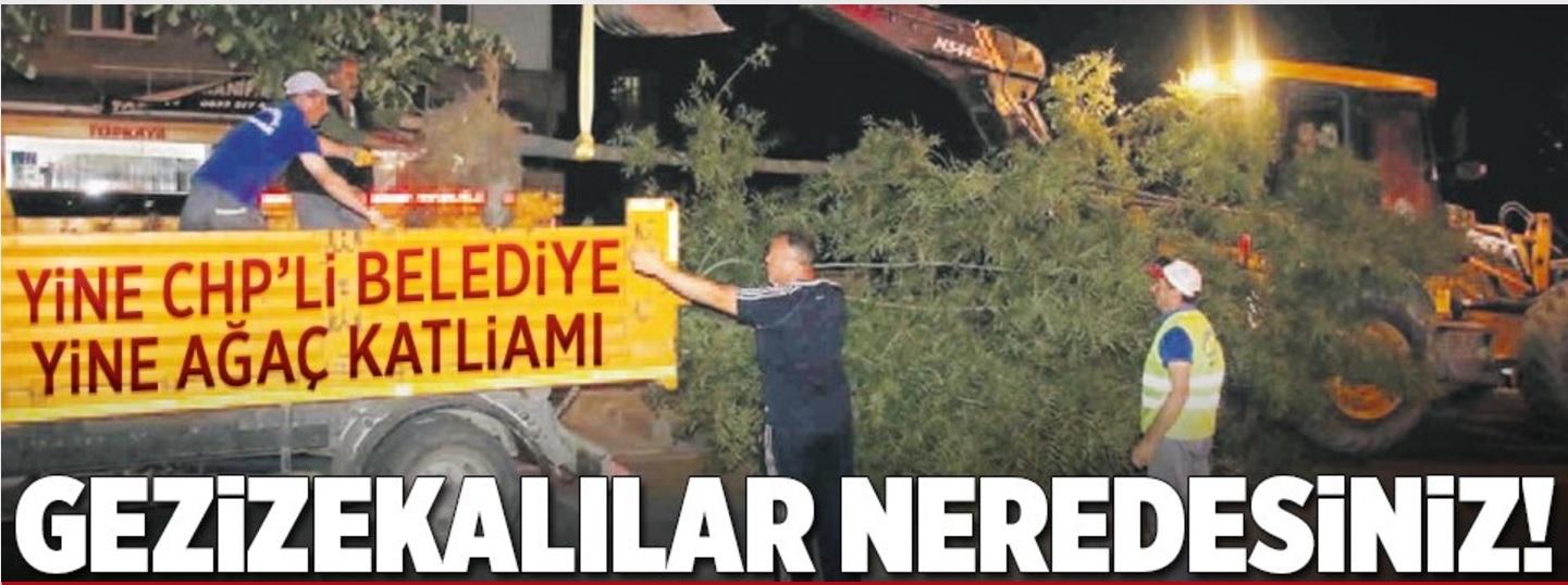 Utanmazlar: Yandaş medya organı Takvim, Gezi Eylemlerine katılanlara hakaret etti