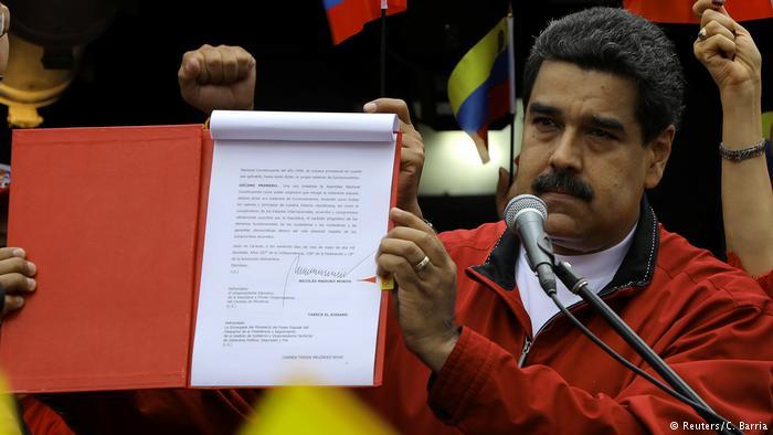 Venezuela'da kritik eşik: Kurucu Meclis referandumu